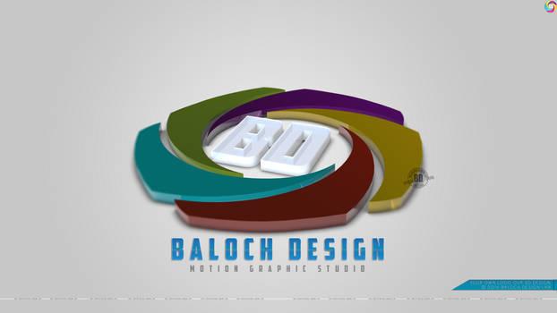 Baloch Design Ultimate 3D Logo Redesigned