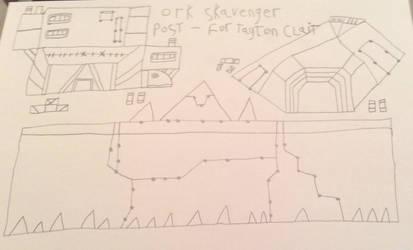 Ork Skavenger Post-Buildings 2 by Daxx-Lorenzo