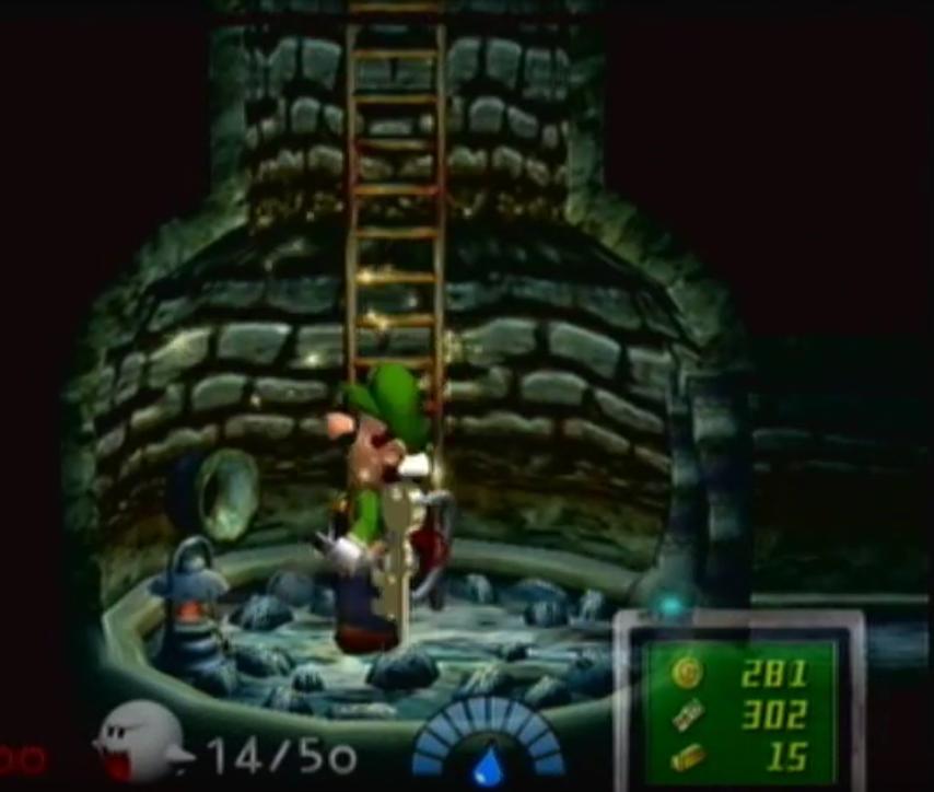 Luigi's Mansion Well 3 by Daxx-Lorenzo