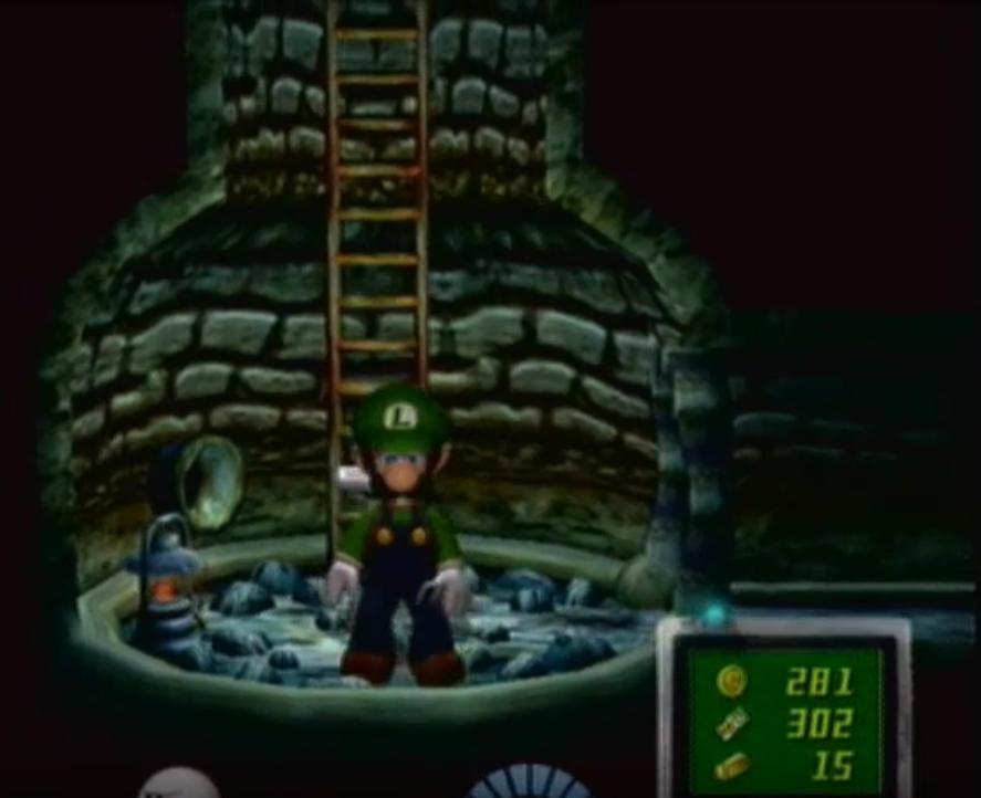 Luigi's Mansion Well 5 by Daxx-Lorenzo