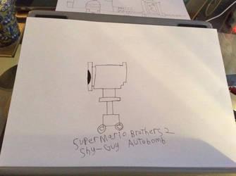 Super Mario Brothers 2 Shy-Guy Autobomb by Daxx-Lorenzo