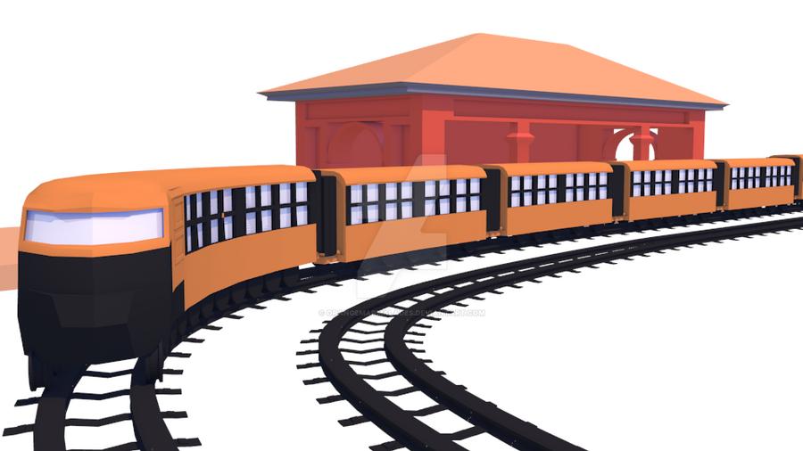 Train by OrangeMarmalades