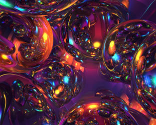 Rainbow Spheres by tracertong