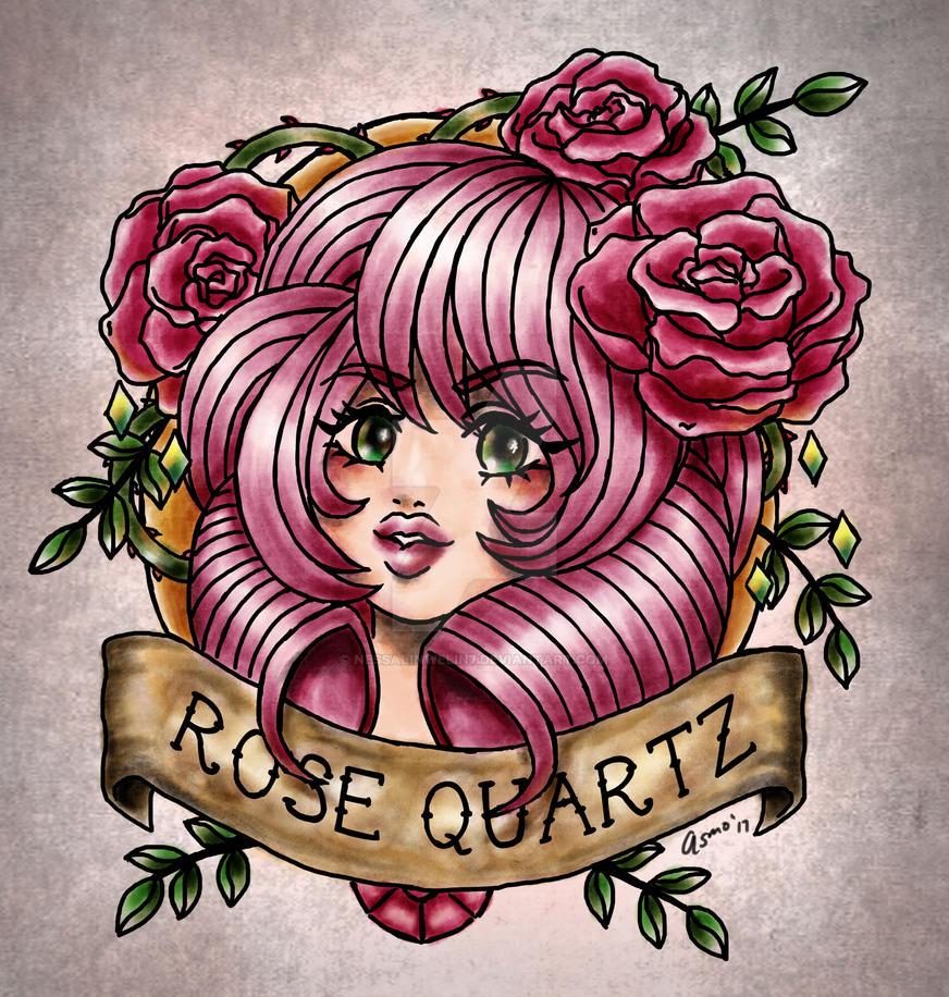 Rose Tattoo by nessalinwelin7