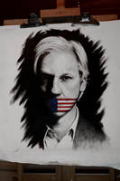 Assange by firestormfilms