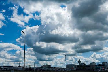 Schiphol cloudysky