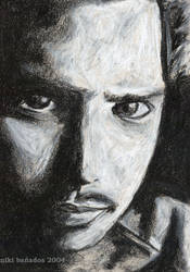 Chris Cornell black and white