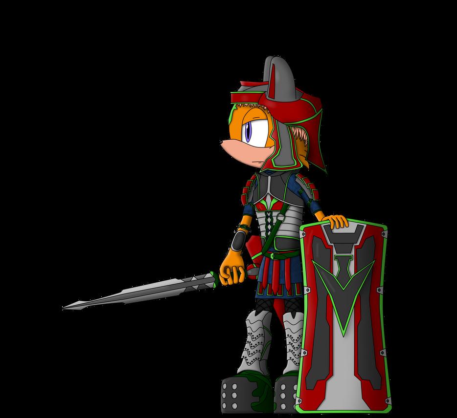 Mobian Empire warrior Atanas by MalorKEKS
