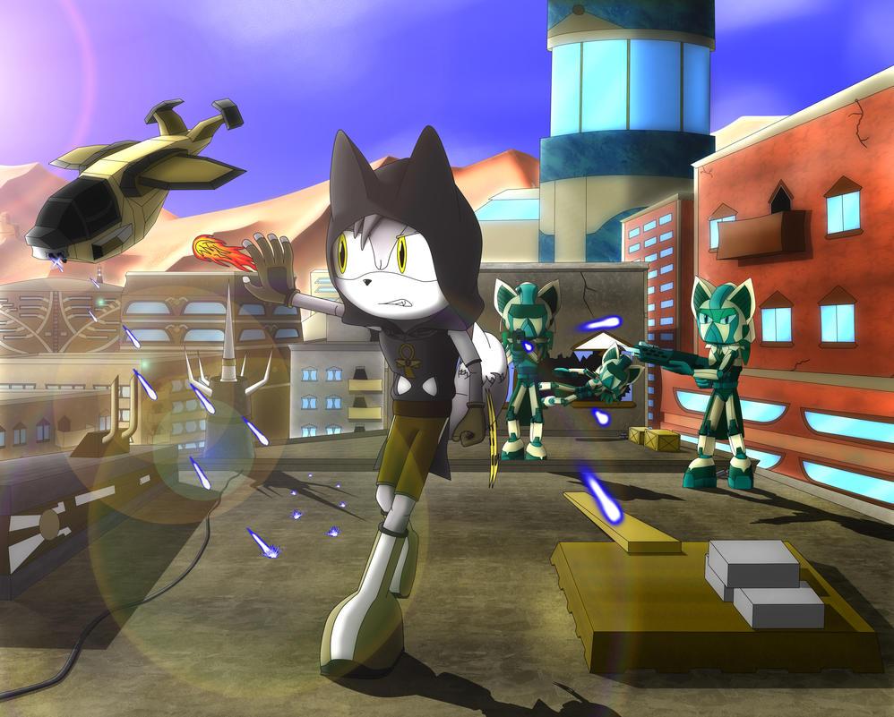 Sand Blast City Escape by MalorKEKS