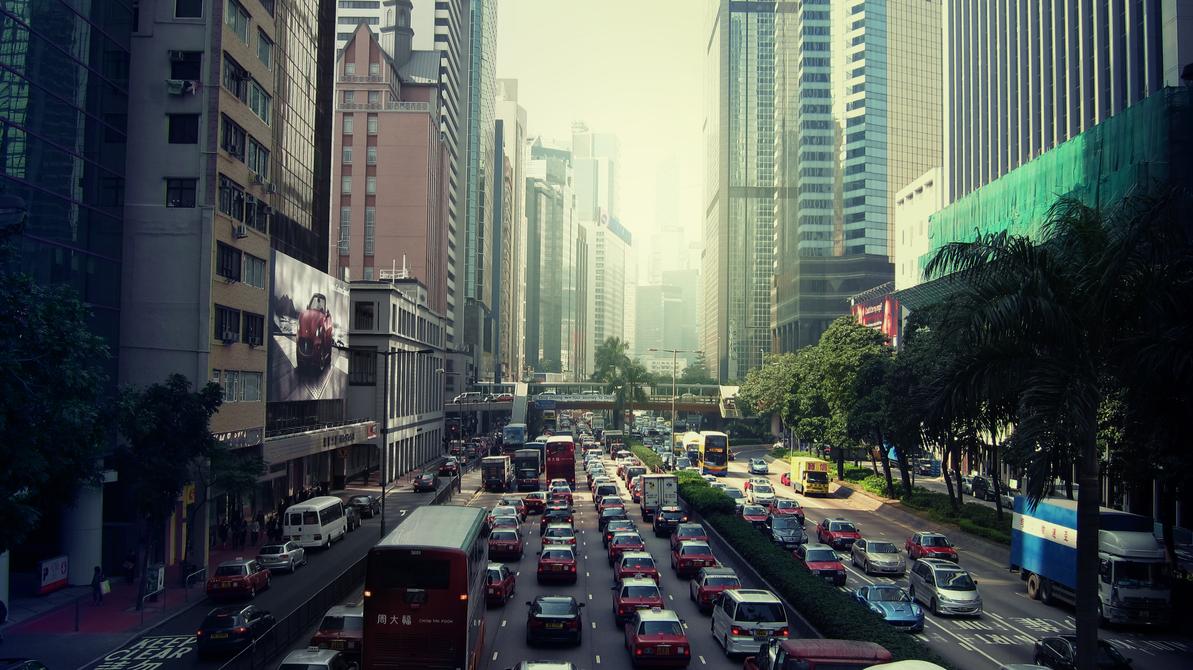 The City - Hong Kong by christoph3rkc