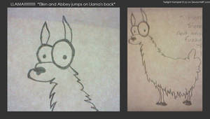 Here's a Llama... by twilight-vampire10