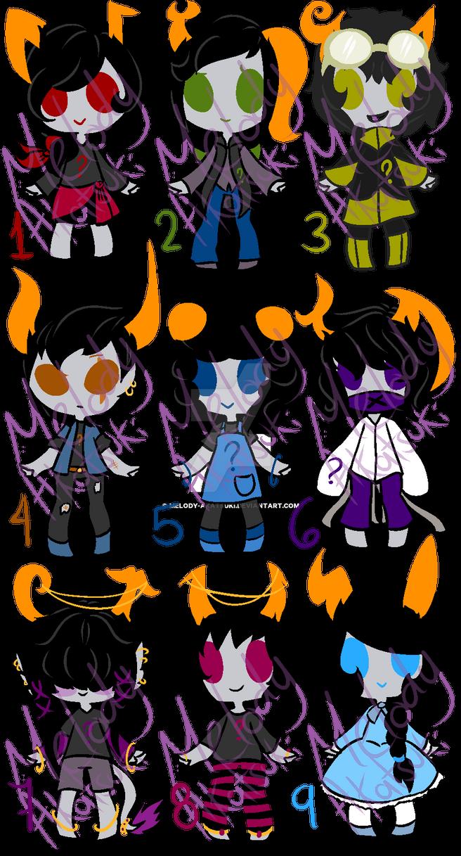 Fantrolls Adoptables #2 by Melody-akatsuki