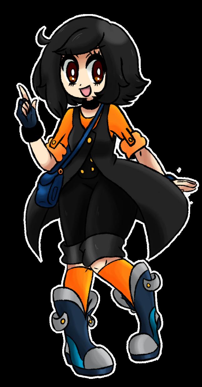 .:Pokemon Trainer Cari -new style-:. by Melody-akatsuki