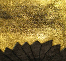 Tree Tops - Gold Leaf 1
