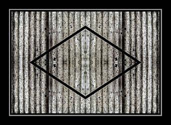 Corrugated x 4 by PeterLovelock
