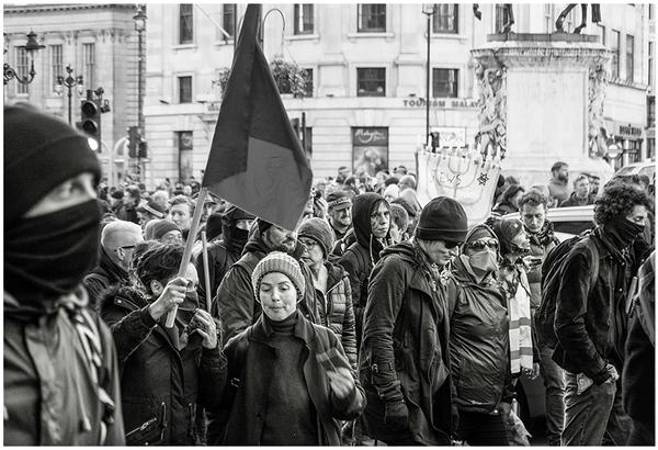 Anti Fascist March by PeterLovelock