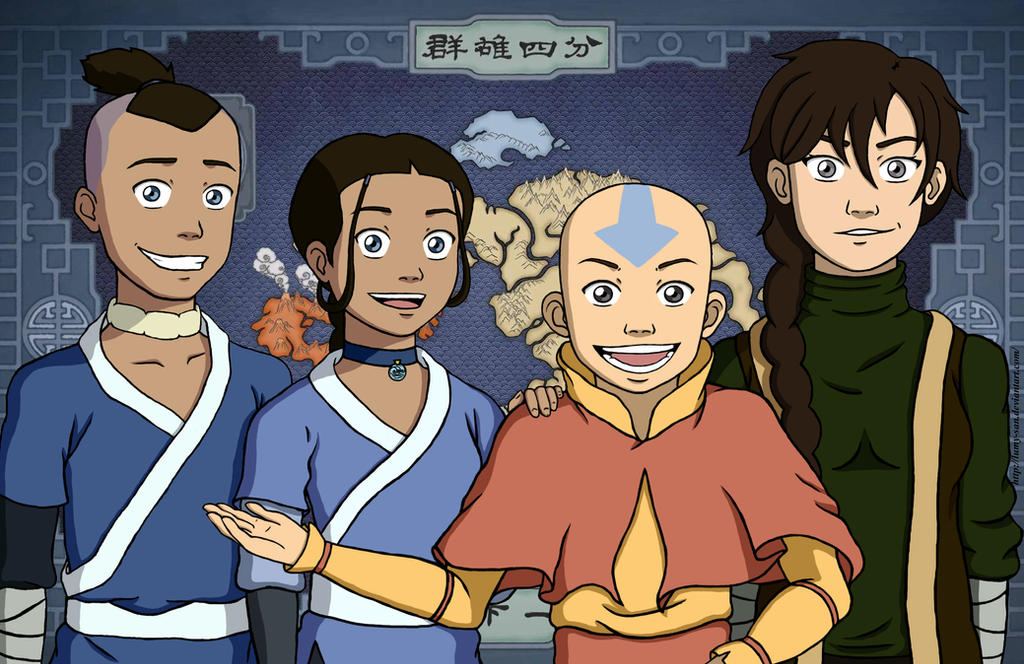 The Gaang, Season One by Lumy-san