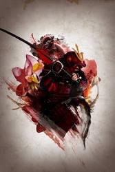 Warrior of the rising sun by Hexotazic