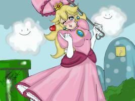 princess peach by OurLadyBinx