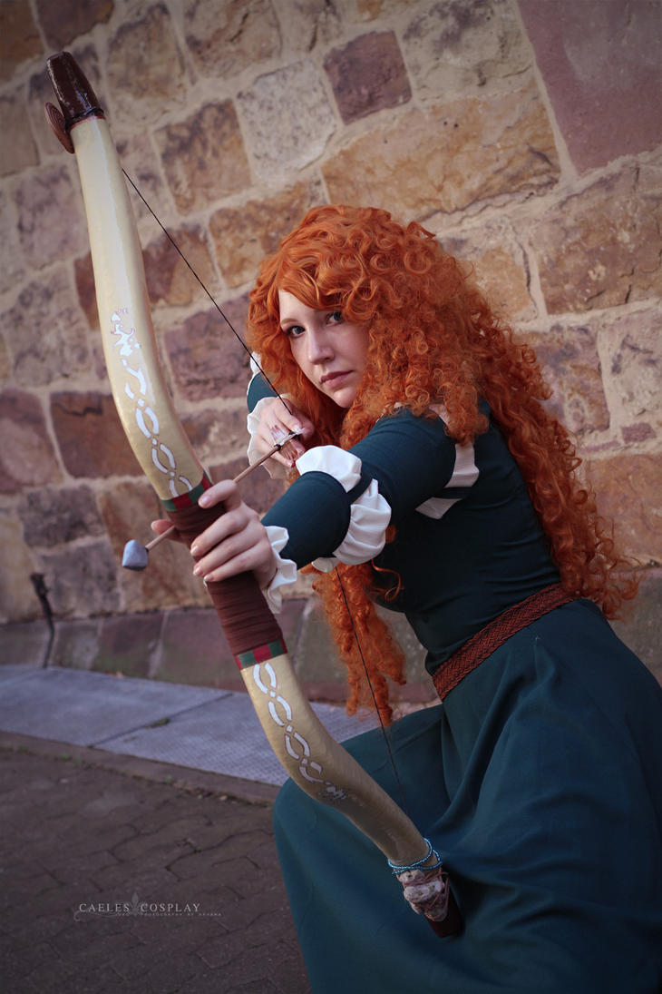 Merida (Brave) :: 03 by Deathly-Sora
