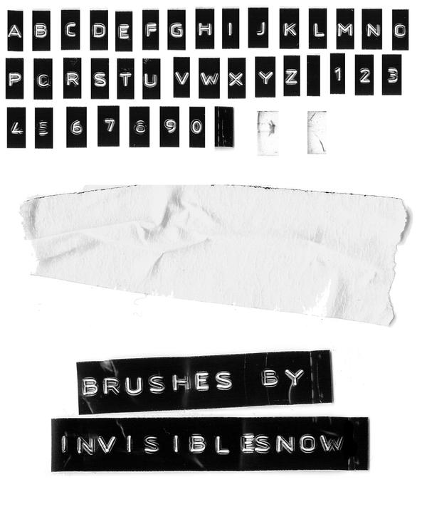 Label Brushes Image Pack