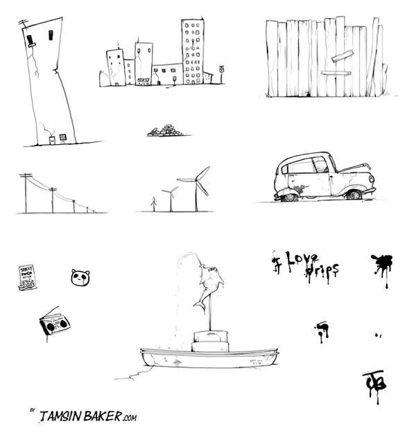 Urban Scrawl 2 IMAGE PACK