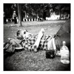 B+W Holga - Relaxing