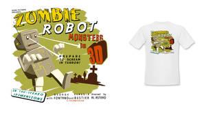 B Movie T-shirt Design