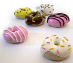 Polymer Donut Charms