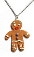 Polymer Gingerbread Man