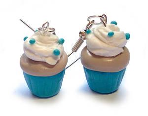 Polymer Cupcake Earrings