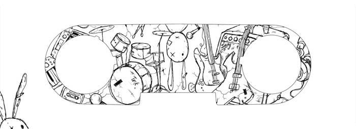 Rock Band Trash - TRik Skin
