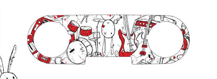 Rock Trash TRik Skin - Colour by InvisibleSnow