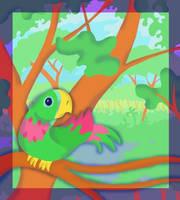 Parrot by jennyweatherup
