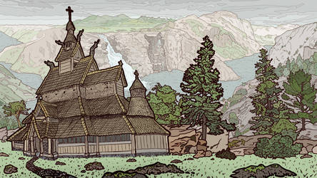 Norwegian Scene