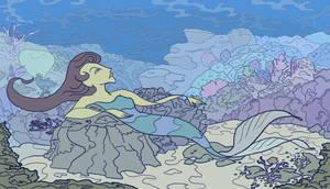 Mermaid Dreams by jennyweatherup
