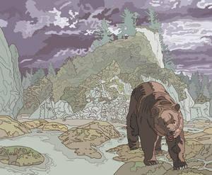Bear in the Wilderness