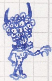 Demon Thing Scribble by vonRibbeck