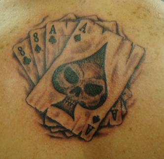Aces And Eights Tattoo Design