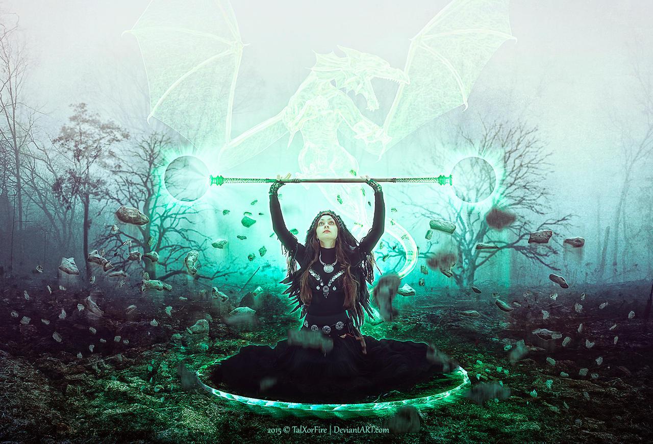 Divine Earth Dragon by TalXorFire
