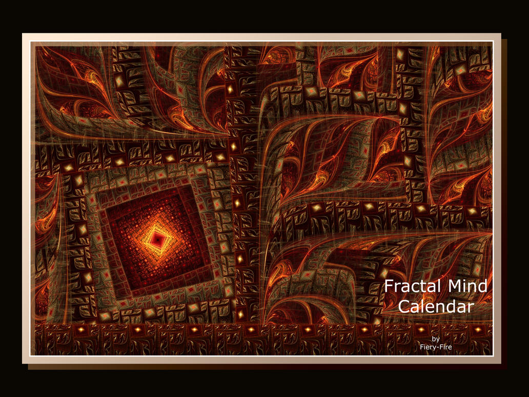 Fractal Mind Calendar by Fiery-Fire