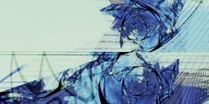 Blue roses memories by Fiery-Fire