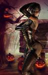 Lucinda's spooky night
