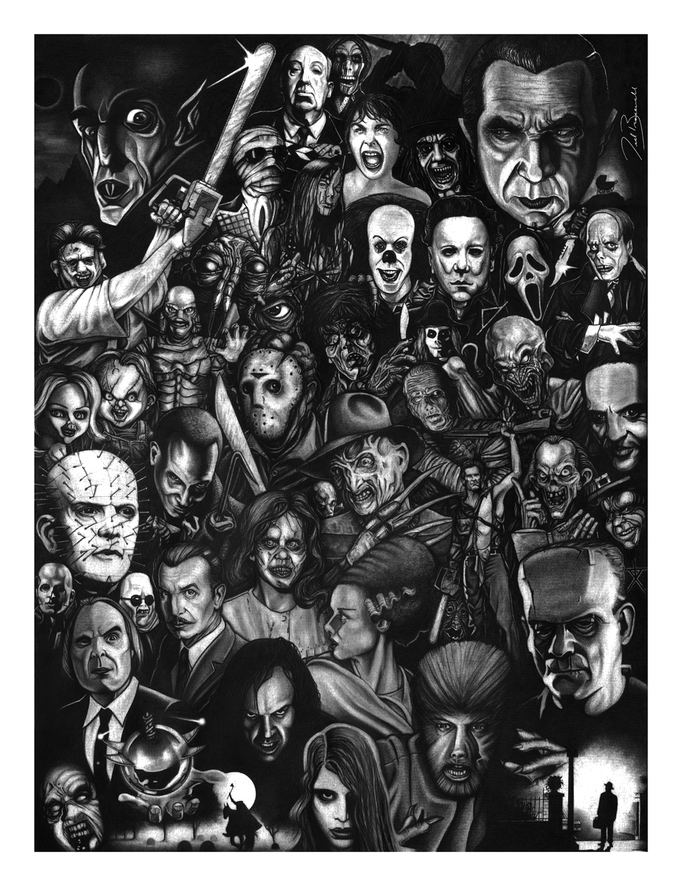 List of Synonyms and Antonyms of the Word: horror movie character