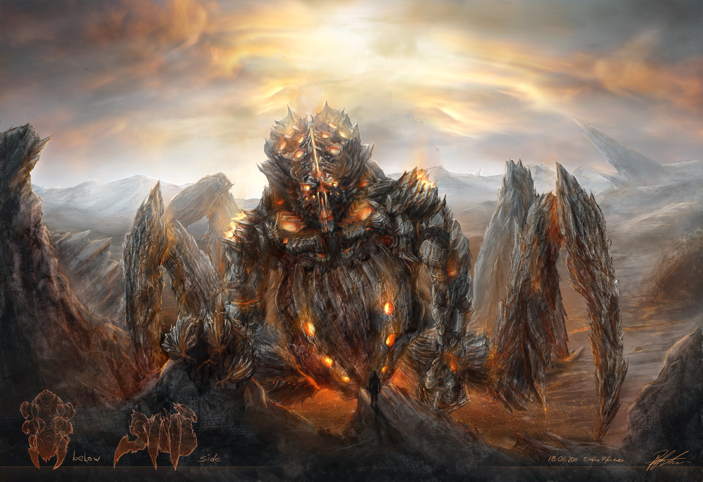 Rift Colossus by Flint010