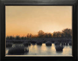 Haaksberger Venn Oil on Canvas 30 40cm by Flint010