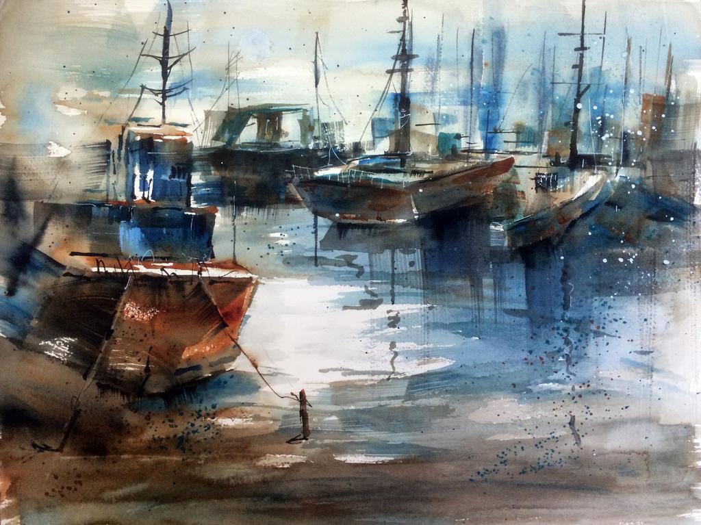Boats by Katjama