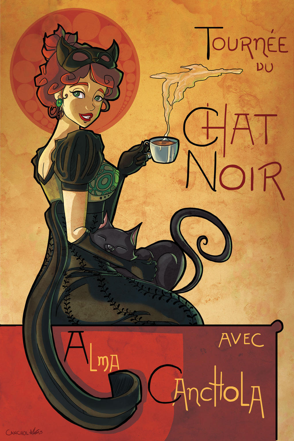Tribute to Chat Noir Poster by Canchola on DeviantArt