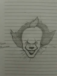 Pennywise  by maskedsmurf