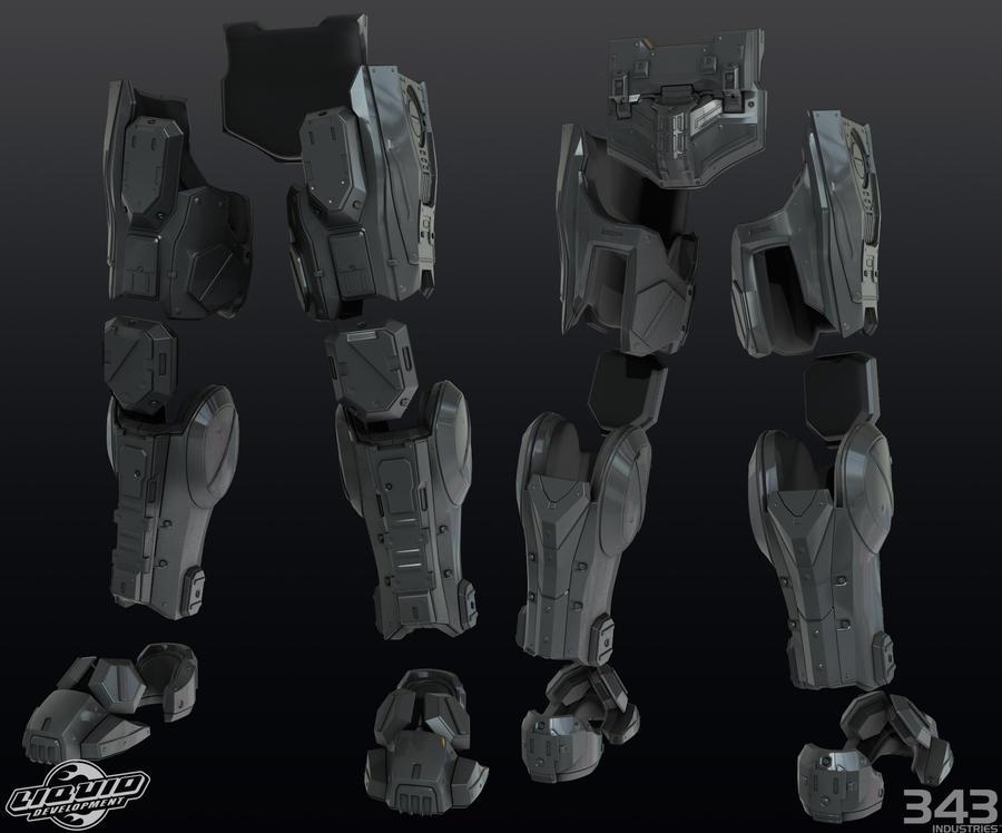 enforcer leg by Crimmson76
